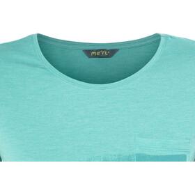 Meru Pylea T-Shirt Women Turquoise